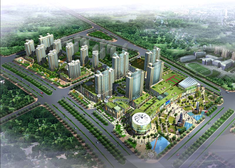 南京欧洲城凯旋明珠商业广场
