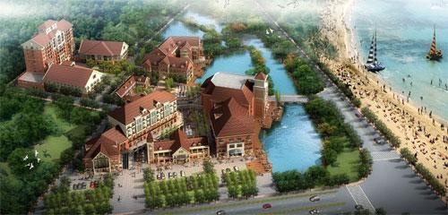 上海金山海鲜美食城