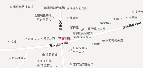 武汉雨合山路地图