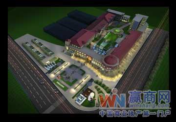 上海云特色商业休闲广场_美食天地_项目招商贵州省美食的街区图片