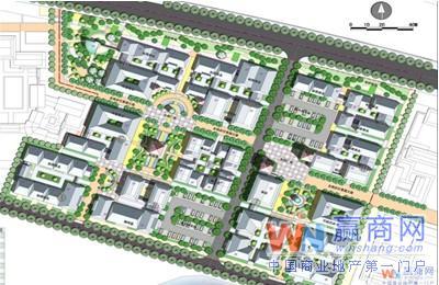 泰安水浒古城快活林商业街图片