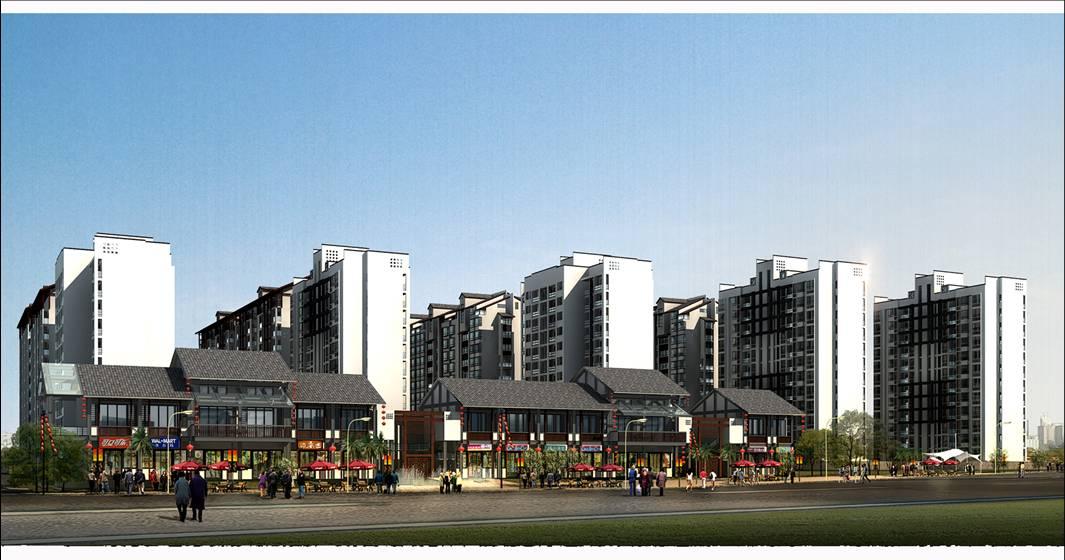 重庆龙州湾步行街