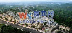 重庆大岭湖法式生活广场