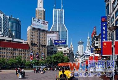 上海南京东路步行街