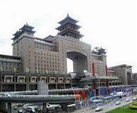 北京西站北广场美食城