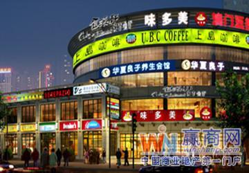 上海洛川东路餐饮一条街