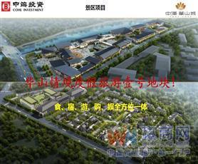 渭南中海华山城景区商业街