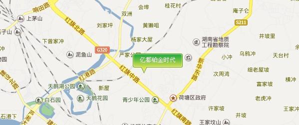 株洲云龙示范区地图