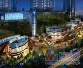 重庆春风与湖商业综合体