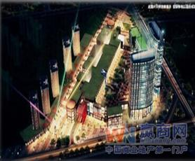 岳阳天伦城步行街