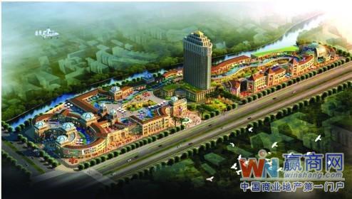 整个项目采用欧式商业街风格打造